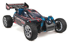 REDCAT RACING Tornado S30 1/10 Scale Offroad RC 4WD Nitro Buggy RTR - BLACK/RED