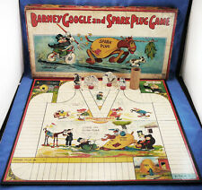 VINTAGE 1923 BARNEY GOOGLE AND SPARK PLUG BOARD GAME,MILTON BRADLEY #4182
