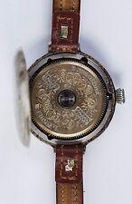 Antique HEBDOMAS 8DAY  WRISTWATCH CIRCA 1900s OLD VINTAGE