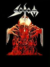 SODOM cd cv OBSESSED BY CRUELTY Official SHIRT SMALL New angelripper witchhunter