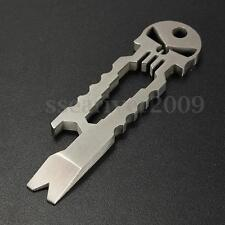 Skull Tactical EDC Multifunction Pocket Survival Tool Key Chain Bottle Opener