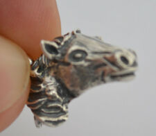 Horse Head Silver Pendant - Symbol of Wealth - Prosperity - Ancient Greece