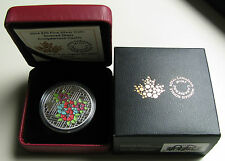 2014 Proof $20 Stained Glass #1-Craigdarroch Castle Canada .9999 silver twenty