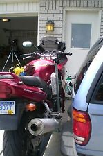 """Motorcycle Carrier;hitch mountAdventure&sport bikes up to 550 lbs, 2"""" sq recvr"""