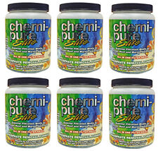 (6) Boyd Enterprises Chemi-Pure ELITE 11.74oz. Aquarium, Fish Tank Filter Media.