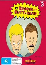 Beavis and Butt-head: Volume 3 (the Mike Judge Collection) - DVD Region 4 Brand