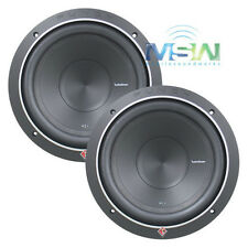 "(2) ROCKFORD FOSGATE P1S4-10 10"" PUNCH P1 4-OHM SUB WOOFERS SUBS 500W RMS *PAIR*"