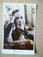 Famous Film Stars Real Photo Postcard- GEORGE ARLISS, No.7123G