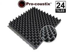 Genuine Pro-coustix Sonarflex Wave High Quality Acoustic foam tiles 24 panels