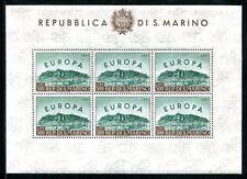 SAN MARINO 1961 700KB ** POSTFRISCH KLEINBOGEN 200€(J3268