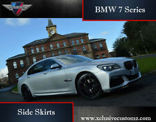BMW 7 Series F02 Xclusive Side Skirts for BMW Tuning PU Plastic