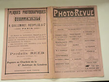 Photo Revue N°11  9/1915  photographie journal magazine stéreo book