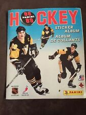 1988 Vintage NHL Panini Hockey 1988/89 Sticker Album with Stickers