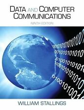 Data and Computer Communications (9th Edition), Stallings, William, Good Book