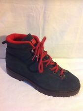 Line 7 Green Ankle Leather Boots Size 38