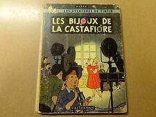 ALBUM BD / TINTIN 20: LES BIJOUX DE LA CASTAFIORE | EO | 1963 | B35