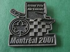 Grand Prix Air Canada Montreal 2001 Sponsor Lapel Pin