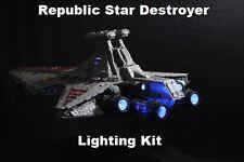Kit de iluminación de fibra óptica para Revell República destructor Modelo-Star Wars Star