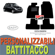 PER MINI COOPER ONE R50 R52 R53 TAPPETINI AUTO IN MOQUETTE CON BATTITACCO | EASY
