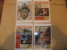 GERRY ANDERSON THUNDERBIRDS SET OF 8 DVD POSTCARDS TV 21 COMIC COVERS CENTURY