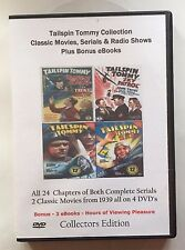 Tailspin Tommy - Classic Movies, Serials & Radio Shows+ Bonus eBooks  Great Gift