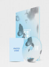 BTS [In The Mood For Love] PT.2 4th Mini Album (Blue ver.) photobook + photocard