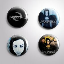 4 EVANESCENCE -  Pinbacks Badge Button 25mm 1''..