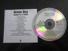 "GREEN DAY ""BULLET IN A BIBLE"" RARE INDIVIDUALLY NUMBERED PROMO CD"