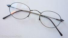 Metallgestell Federscharnier Klassiklook Brillenfassung kleine Form occhiali S