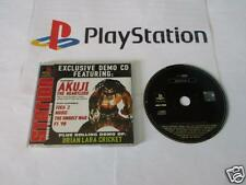 playstation 1: DEMO DISC FOUR akuji the heartless