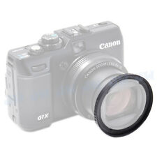 58mm UV CPL FILTER THREAD LENS ADAPTER RING FOR Canon PowerShot G1 X AS FA-DC58C