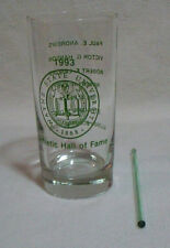 Wayne State University Athletic Hall of Fame Cocktail Glass Tumbler 1993