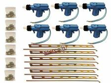 6X Universal Power Door Lock 2 Wire Actuator Kit Bullz Audio BDLA-2