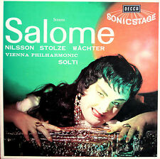 SET 228-9 Richard Strauss Salome Nilsson Solti VPO DECCA 2xLP Box Set NEAR MINT
