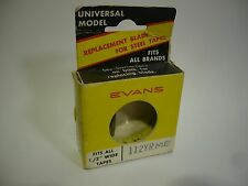 Vintage Evans Replacement Blade for Steel Tape Measure - 112YRME