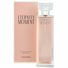 Eternity Moment by Calvin Klein 3.4oz EDP Spray Women *100% Original New Sealed*