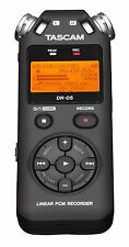 Tascam DR-05 Portable Handheld Digital Audio Recorder - Black ✔NEW✔