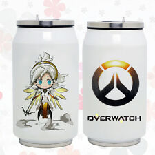 Blizzard Game Overwatch Mercy Stainless Steel  Heat Insulation Cup Water Cup mug