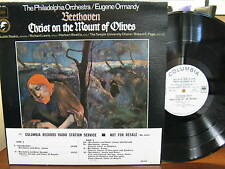 Near Mint LP Ormandy Beethoven Christ on the Mount of Olives Radio Station Copy