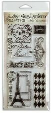 Tim Holtz Clear Stamps - French Market #39