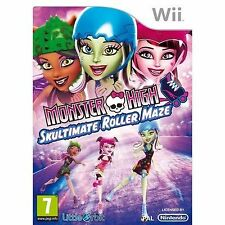 Monster High Skultimate Roller Maze Nintendo Wii ** ** entrega UK LIBRE