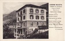 #PESCAU' DI LEZZENO: ALBERGO HELVETIA