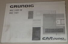 Manual de instrucciones Grunding autoradio WKC 1400 Vd, WKC 1401