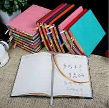 """Candy's Garden"" Big Diary Planner Agenda Journal Memo Gift Luxury Leather Cover"