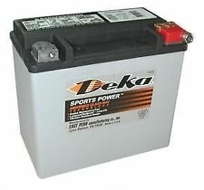 Deka Agm Battery Harley Etx20L Oem 65989-97C Softail Dyna Fxst Fxd 1997-Up