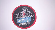 Sex Pistols Sid Vicious round vintage group music patch Sew On