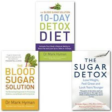 Sugar Free Book Collection(The Blood Sugar Solution 10Day Detox Diet)3 Books Set