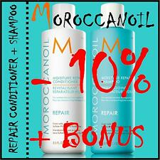 MOROCCANOIL Arganöl Repair Conditioner + Repair Shampoo je 250ml + BONUS