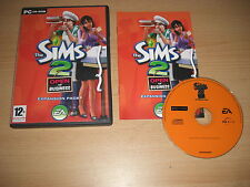 THE SIMS 2 OPEN FOR BUSINESS Pc Cd Rom Add-On Expansion Pack SIMS2 SIMMS