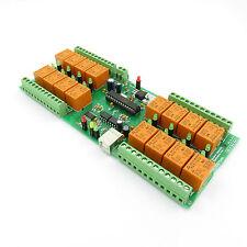 USB 16 Canaux Carte Relais / relays - 10A(220V) / USB relay board